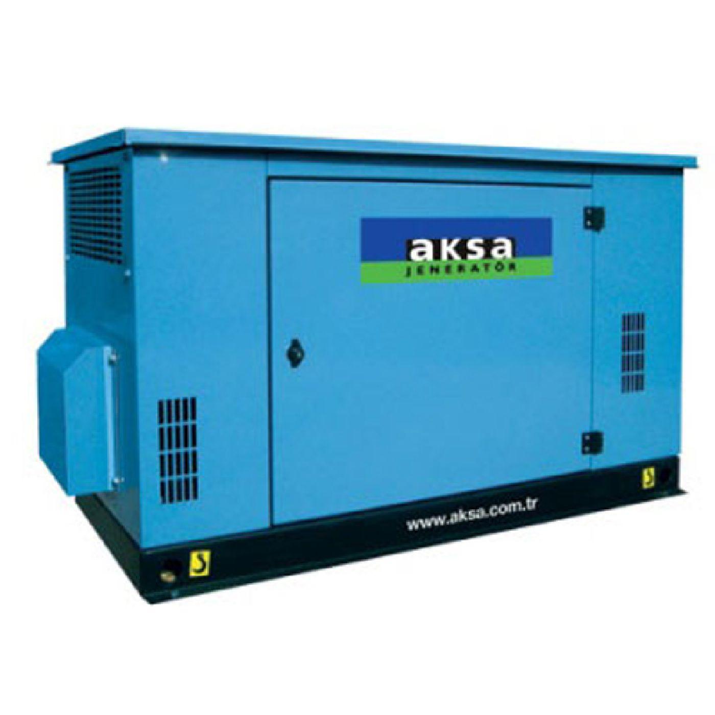 Aksa Natural Gas Powered Generators