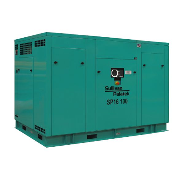 Picture Of Sullivan Palatek rotary screw air compressor